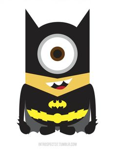 Minions como superhéroes: Batman
