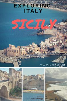 Exploring Italy: The beautiful Island of Sicily. Travel Photography of several historic and medieval towns around the island of Sicily. #travel #italy #italytravel #photooftheday #photography