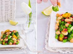 Весенний салат с паниром. Wedyjska Kuchnia - вегетарианское блаженство вкусов.