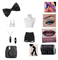 """""""Purple, black and white"""" by a1-800-music on Polyvore featuring Gucci, BERRICLE, Baja East, Jeffrey Campbell, Bling Jewelry, She's So and Topshop"""