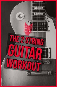 The 2 String guitar Practice Routine. Every few months or so, I find myself in some type of a guitar playing slump, or rut or whatever you want to call it. If you've been playing guitar for longer than a few years, you probably know what I'm talking about right?