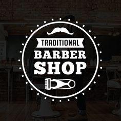 Barber Shop Vintage Logo & Badge, 100% vector best for your barber shop branding.