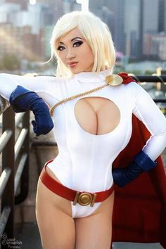 Yaya Han - Power Girl Cosplay