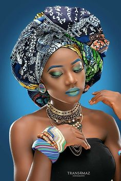 Beautiful 49 head wraps for African American women Natural Afro Hairstyles African American Beautiful Women wraps African American Women Hairstyles, African Women, African Art, African Colors, African Prints, African Makeup, African Beauty, African Fashion, Black Women Art
