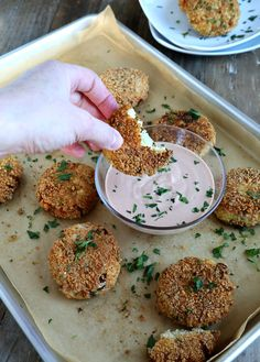 Gluten Free Cauliflower Fritters - Gluten Free on a Shoestring