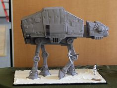 Love The Star Wars AT-AT Cake By ideasinicing - The Geek Mojo Would LOVE This Cake!