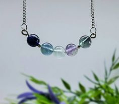 Check out this item in my Etsy shop https://www.etsy.com/uk/listing/502431924/fluorite-necklace-crystal-jewellery