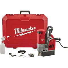 FREE SHIPPING — Milwaukee Compact Electromagnetic Drill — 1 5/8in., Model# 4272-21