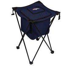Football Fan Shop Picnic Time Sidekick Foldable Cooler - Denver Broncos - Blue