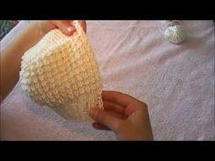 Шапочка - чепчик (набор нижней резинки) - YouTube