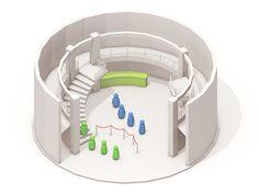 SF Public Library Atrium #illustration #design #inspiration