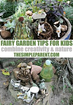 Making a fairy garden is a fun way to get your kids out into nature! These simple fairy garden tips make creating your own garden a breeze!