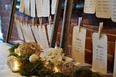 Wedding details. Exquisite color and details for this wedding reception!