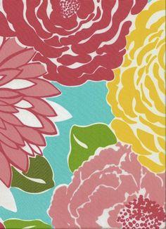 preppy floral pattern