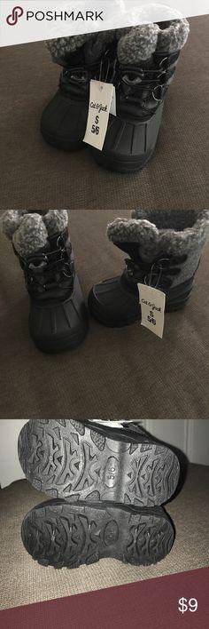 BNWT Cat & Jack winter boots BNWT Cat & Jack boots! Size 5/6 cat & jack Shoes Rain & Snow Boots