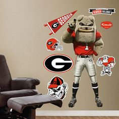 Georgia Bulldogs Mascot - Hairy Dawg