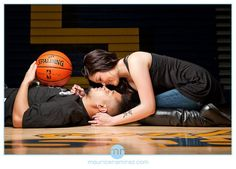 I think this is cute but football themed instead Basketball Engagement Photos, Basketball Wedding, Basketball Couples, Love And Basketball, Basketball Girlfriend, Basketball Bedroom, Sports Wedding, Street Basketball, Basketball Workouts