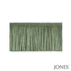 Jones Interiors I Trimmings Sofa Green, Velvet Corner Sofa, Green Sage, Lampshades, Broadway, Art Deco, Cushions, Interiors, Colour