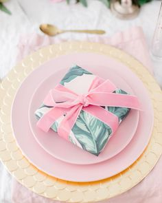 Pink Plates, Gold Chargers, Homesense, Brown Paper Packages, Easy Entertaining, Charger Plates, Perfect Pink, Wedding Paper, Tablescapes