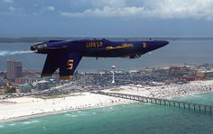 Pensacola Beach Air Show - Florida. Sure missed the Blue Angels this year. So glad they're back for 2014!