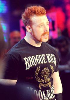 Sheamus. WWE Wrestler. The Celtic Warrior. Great White Fella