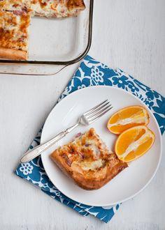 Ham and Cheese Puff Pancake