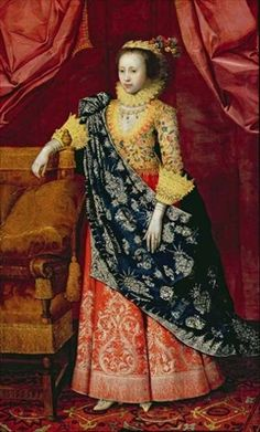 Portrait of a Lady, here called Arabella Stuart by  Marcus Gheeraerts