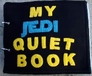 I love the idea of quiet books. And I love Star Wars. Perfect project? I think so...