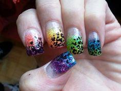 Ombre Nail Art Colour Trend 2014