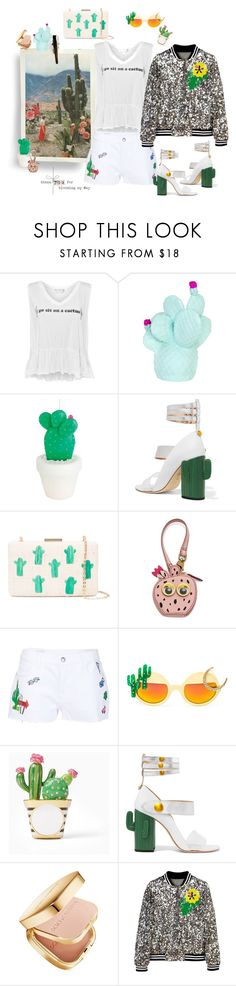 """Blooming desert"" by juliabachmann ❤ liked on Polyvore featuring Dolce Vita, Wildfox, Goodnight Light, West Elm, MR by Man Repeller, Kayu, FOSSIL, Mira Mikati, Rad+Refined and Dolce&Gabbana"