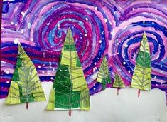 Image result for hanging art elementary
