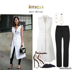 Dnešný čierno biely outfit venujem elegantným rebelkám. Jeho súčasťou sú šaty na zapínanie po celej svojej dĺžke a čierne úzke nohavice. Ja som zvolila v 7/8 novej dĺžke, avšak vy si môžete zvoliť aj klasiku. Teda so štandardnou dĺžkou a čo je skvelé, nemusia byť ani úzke. Veľmi originálne ukážu [...]