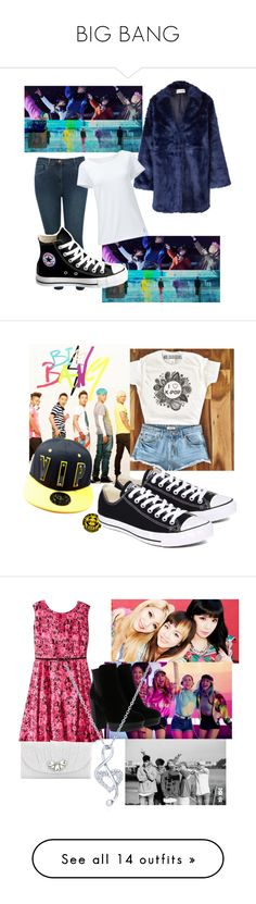 """""""BIG BANG"""" by ashley-shehi ❤ liked on Polyvore featuring M&Co, Won Hundred, Converse, Lands' End, ILoveYa, girliwannagetdown, Julian Taylor, Kate Landry, Hogan and BERRICLE"""