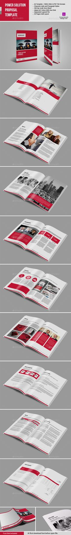 Corporate Project Proposal Brochure  Project Proposal Proposals