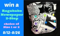 Ragababe 2-step review and giveaway from Thinking About Cloth Diapers.  Event ends August 26, 2013.