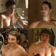 A shirtless Lee Pace. Praise God.