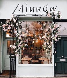 shop fronts 25 of Londons Most Buzz-Worthy Coffee Shops Coffee Shop Design, Cafe Design, Store Design, Shop Front Design, Flower Shop Design, Coffee Shop Interior Design, Design Shop, London Coffee Shop, Best Coffee Shop