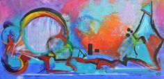 Straight from the heart, schilderij van Kunstenares Mir, Mirthe Kolkman van der Klip | Abstract | Modern | Kunst Abstract, Painting, Art, Modern Art, Painting Art, Paintings, Kunst, Paint, Draw