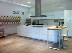 SANTOS kitchen   Schaller Designers Group for SANTOS in Colombia http://www.schallerdesigners.com/