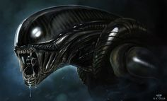 ALIEN - H.R. GIGER PITCH - by `DanLuVisiArt on deviantART