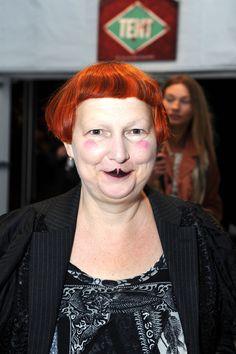 Lynn Yaeger.....ha, ha, ha!!!! She is a clown!!!!