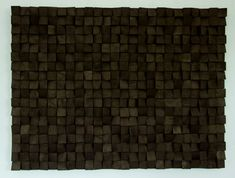 Large Wood wall Art monochromatic black art geometric wooden