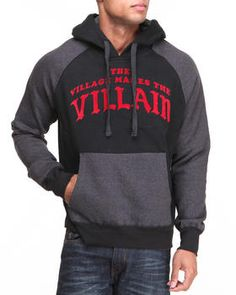 Love this Villain L/S Popover Hoodie on DrJays and only for $NaN. Take a look and get 20% off your next order!