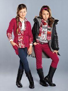 Colección para niñas de MAYORAL. Girls Collection. Fall-Winter 2012.
