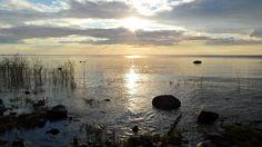 Raahe, meren rannalla