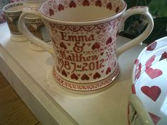also need a few pennies for this two handled mug - love it