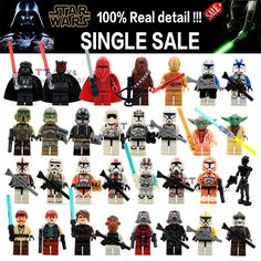 Online Shop single sale Star wars minifigures darth vader maul lightsaber yoda sith with weapon building block sets collection gift toys Aliexpress Mobile