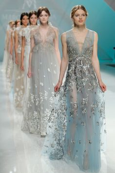 Barcelona Bridal Fashion Week 2016: Delicate and Ethereal Marco and Maria