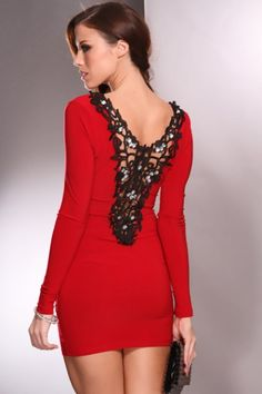 Cute Dress http://styleapparels.com/product-category/christmas/party-dress/