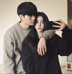 Korean couple ift 2019 ve Korean Ulzzang, Ulzzang Boy, Girl Couple, Sweet Couple, Korean Couple, Korean Girl, Cute Couples Goals, Couple Goals, Ulzzang Couple